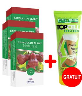 3 x Capsula de slabit + Top cell crema Gratuit